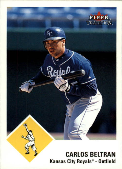 2003 Fleer Tradition #114 Carlos Beltran