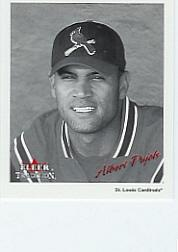 2003 Fleer Tradition Black-White Goudey #20 Albert Pujols