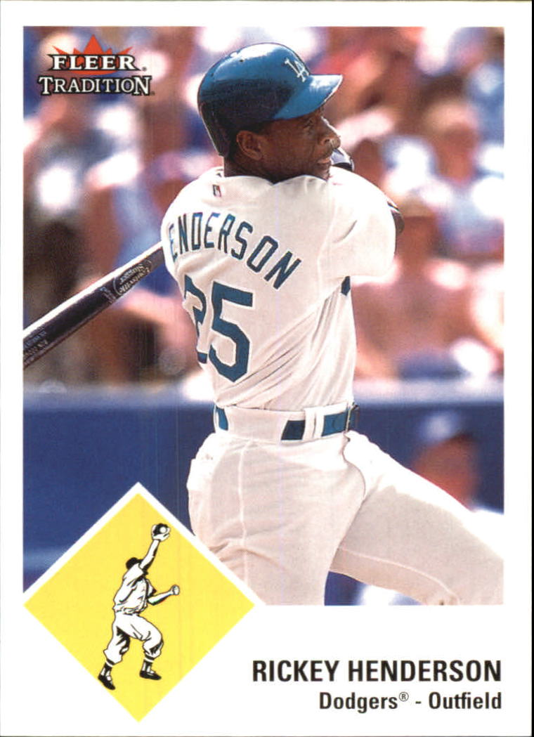 2003 Fleer Tradition Update #69 Rickey Henderson