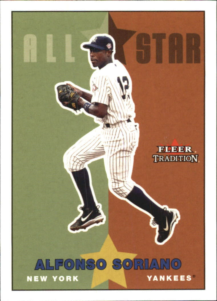 2003 Fleer Tradition Update #203 Alfonso Soriano AS