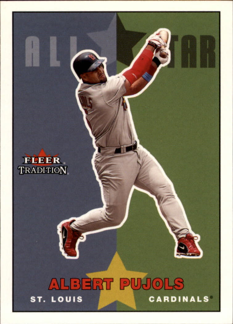 2003 Fleer Tradition Update #236 Albert Pujols AS
