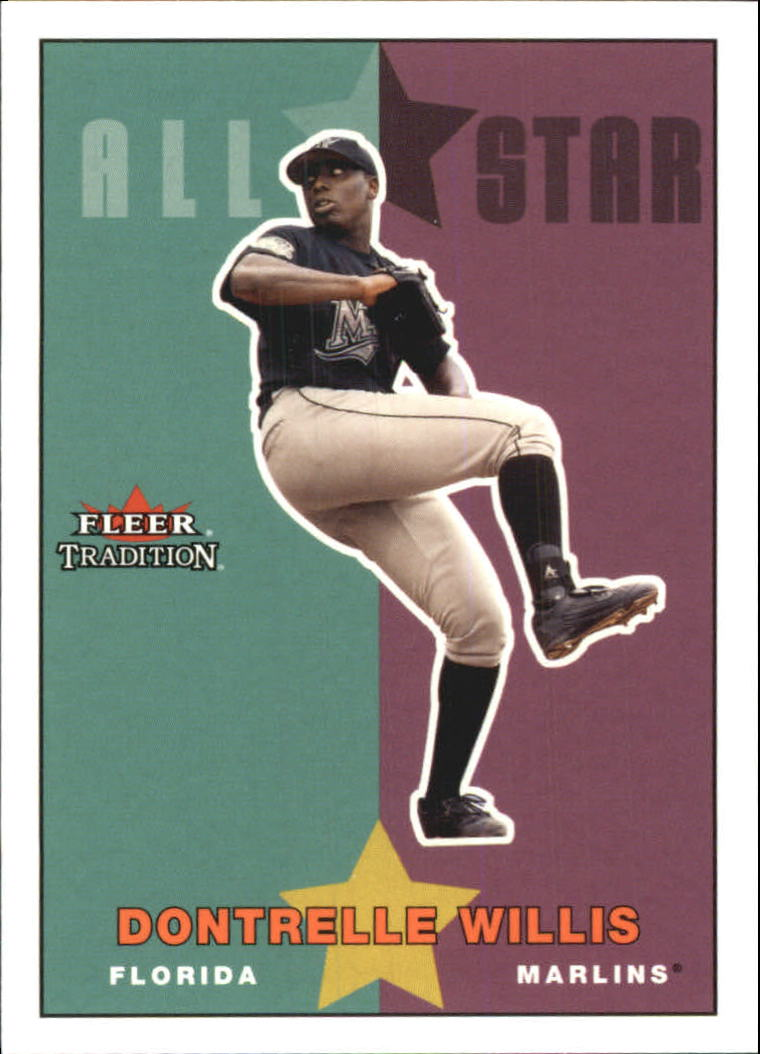 2003 Fleer Tradition Update #241 Dontrelle Willis AS front image