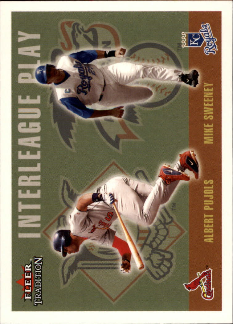 2003 Fleer Tradition Update #266 M.Sweeney/A.Pujols IL