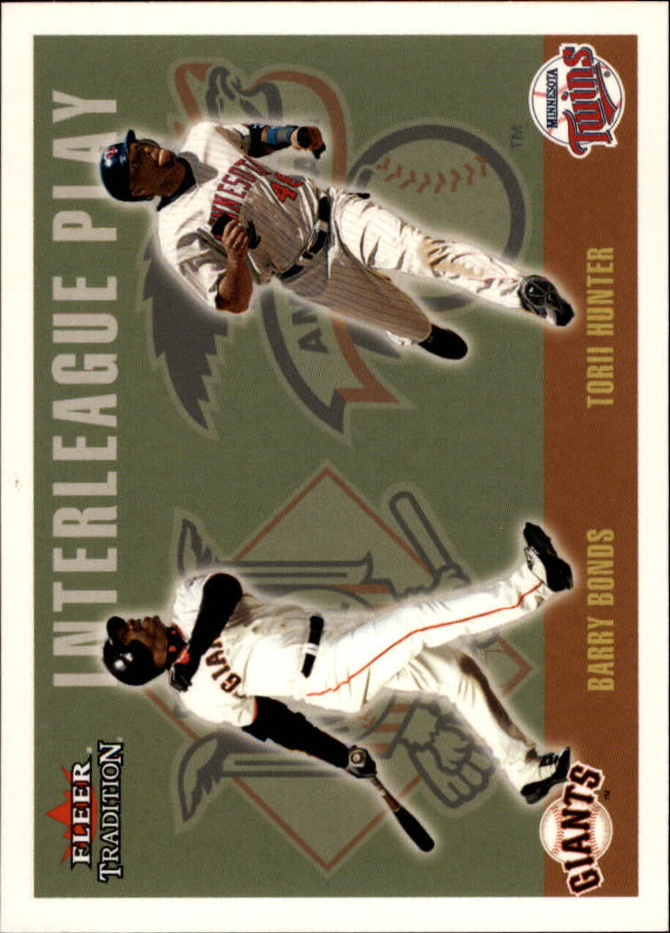2003 Fleer Tradition Update #267 B.Bonds/T.Hunter IL