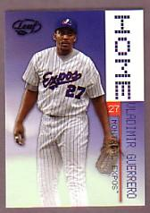 2003 Leaf Home/Away #9H Vladimir Guerrero H