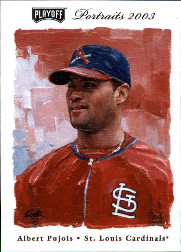 2003 Playoff Portraits #31 Albert Pujols