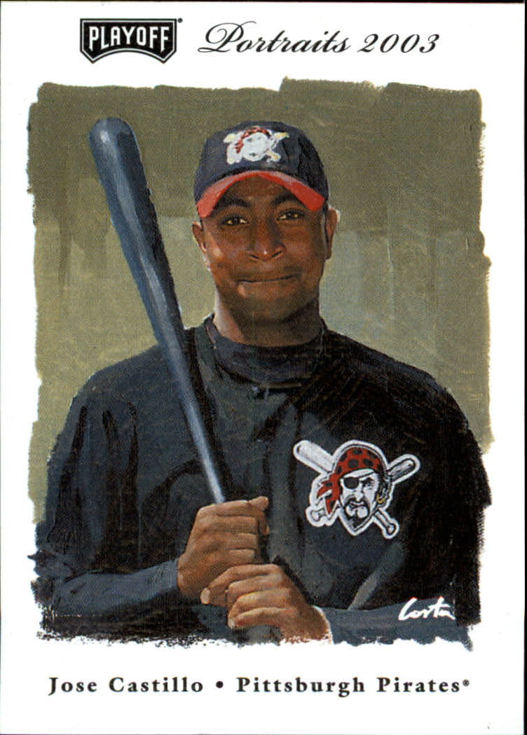 2003 Playoff Portraits #133 Jose Castillo