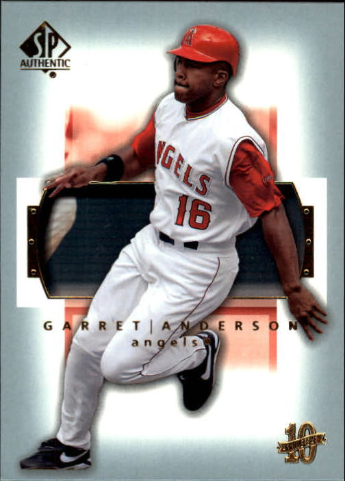 2003 SP Authentic #2 Garret Anderson