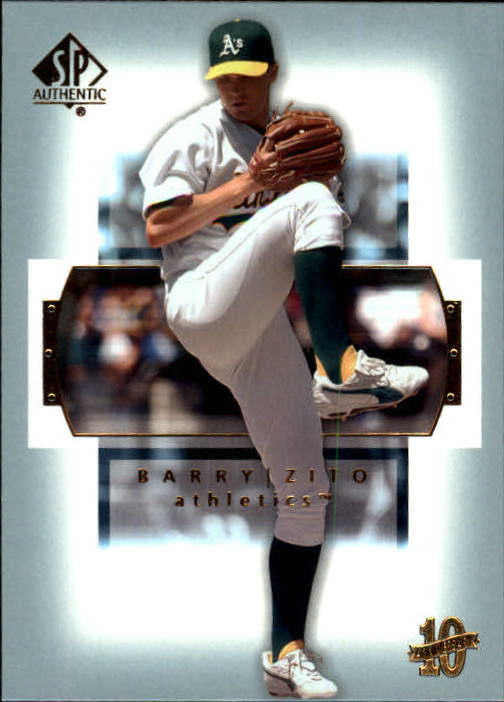 2003 SP Authentic #5 Barry Zito
