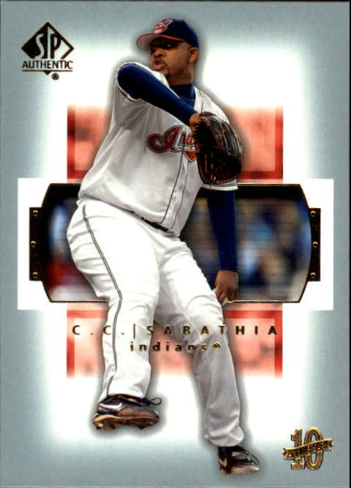 2003 SP Authentic #14 C.C. Sabathia