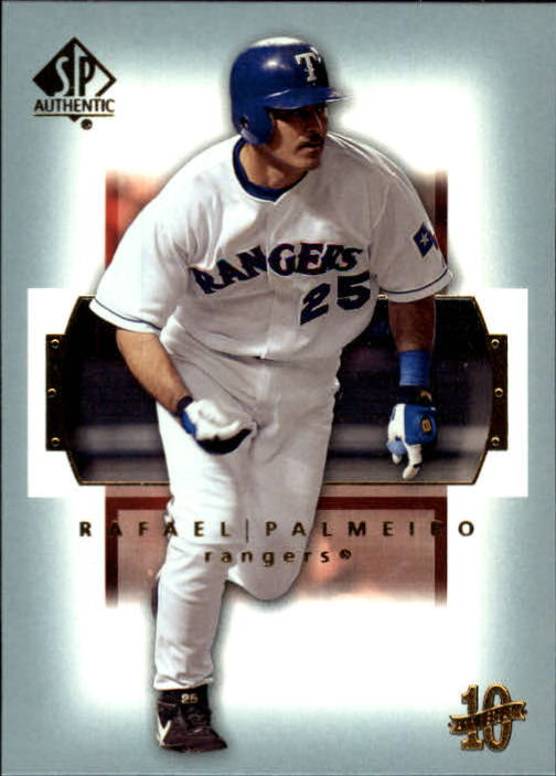 2003 SP Authentic #22 Rafael Palmeiro