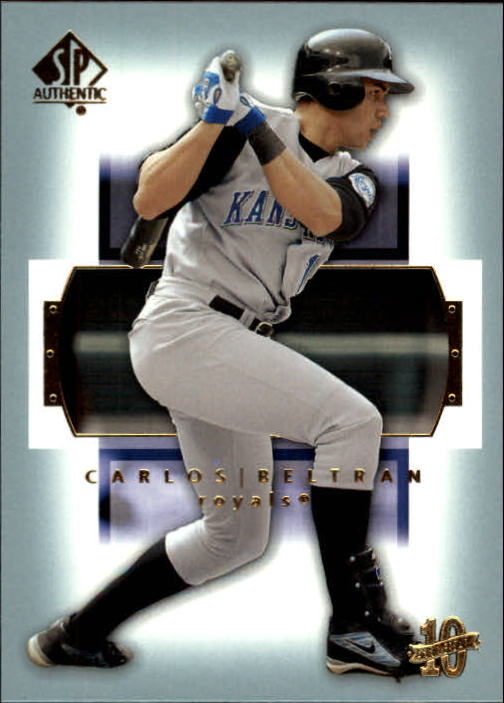 2003 SP Authentic #29 Carlos Beltran