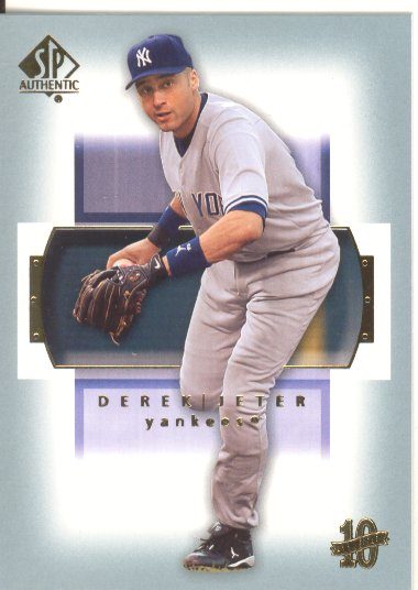 2003 SP Authentic #39 Derek Jeter