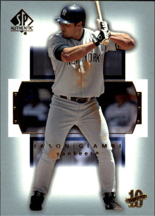 2003 SP Authentic #41 Jason Giambi