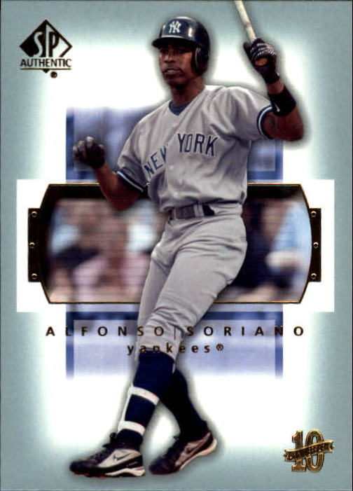 2003 SP Authentic #42 Alfonso Soriano