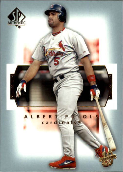 2003 SP Authentic #54 Albert Pujols