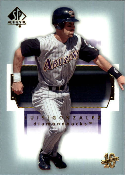 2003 SP Authentic #59 Luis Gonzalez