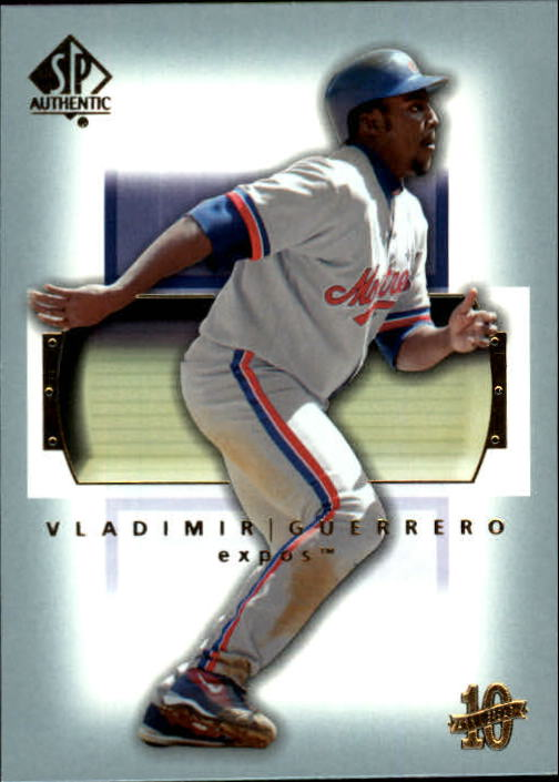 2003 SP Authentic #65 Vladimir Guerrero