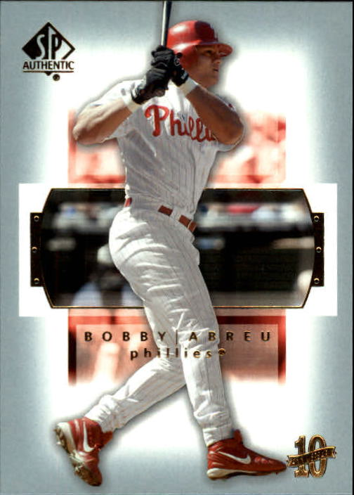 2003 SP Authentic #81 Bobby Abreu