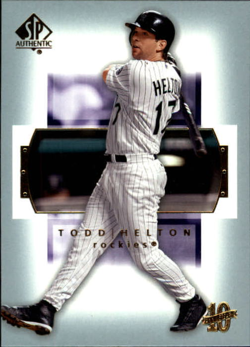 2003 SP Authentic #89 Todd Helton
