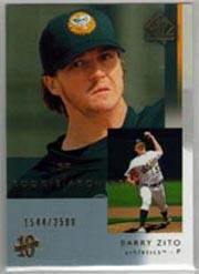 2003 SP Authentic #112 Barry Zito RA