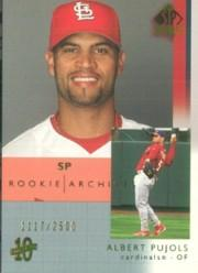 2003 SP Authentic #120 Albert Pujols RA