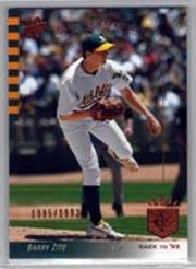 2003 SP Authentic #144 Barry Zito B93