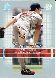 2003 SP Authentic #201 Dan Haren FW RC