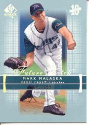 2003 SP Authentic #225 Mark Malaska FW RC