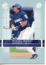 2003 SP Authentic #229 Miguel Ojeda FW RC