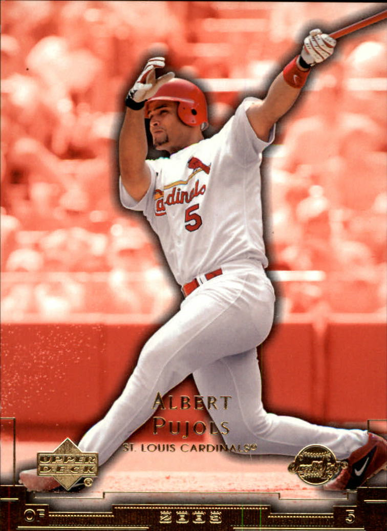 2003 Sweet Spot #116 Albert Pujols SP