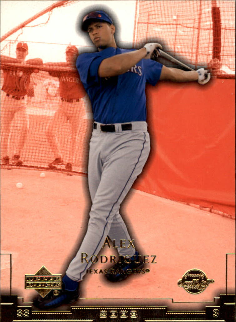 2003 Sweet Spot #121 Alex Rodriguez SP