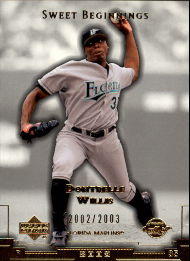 2003 Sweet Spot #179 Dontrelle Willis SB