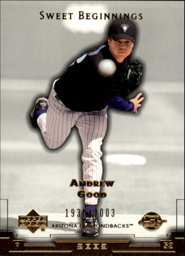 2003 Sweet Spot #182 Andrew Good SB