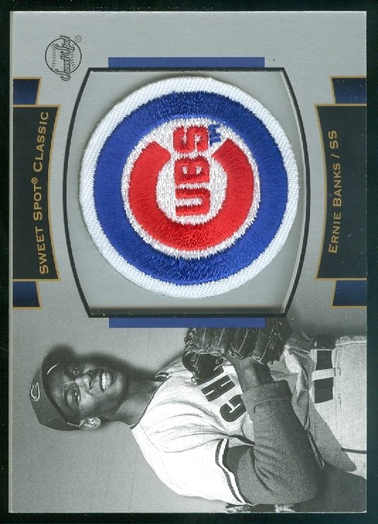 2003 Sweet Spot Classics Patch Cards #EB1 Ernie Banks