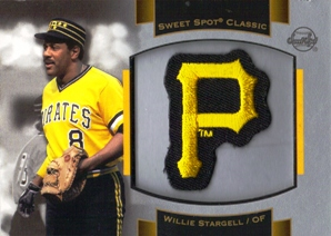 2003 Sweet Spot Classics Patch Cards #WS1 Willie Stargell