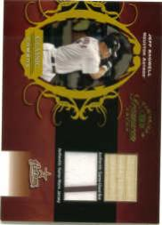 2003 Timeless Treasures Classic Combos #16 Jeff Bagwell Bat-Jsy