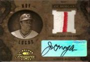 2003 Timeless Treasures HOF Logos Autographs #32 Joe Morgan