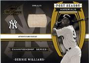 2003 Timeless Treasures Post Season #3 Bernie Williams Bat/100