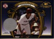2003 Timeless Treasures Rookie Year Parallel #17 Fred Lynn Jsy/75