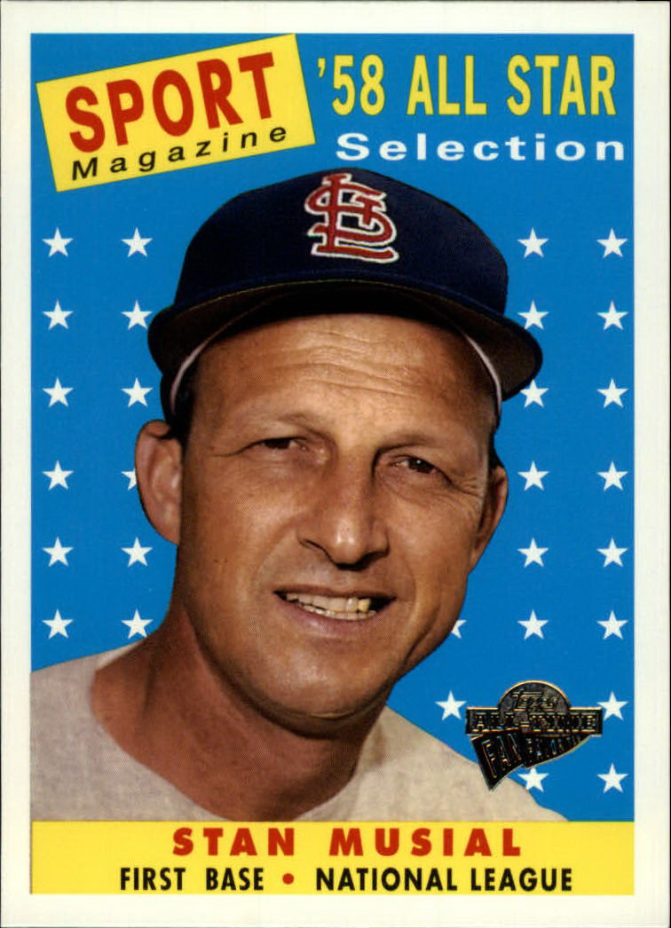 2003 Topps All-Time Fan Favorites #3 Stan Musial