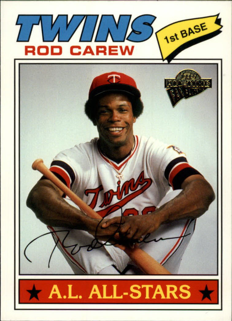 2003 Topps All-Time Fan Favorites #7 Rod Carew