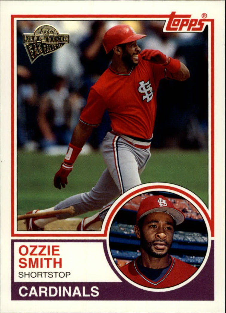 2003 Topps All-Time Fan Favorites #10 Ozzie Smith