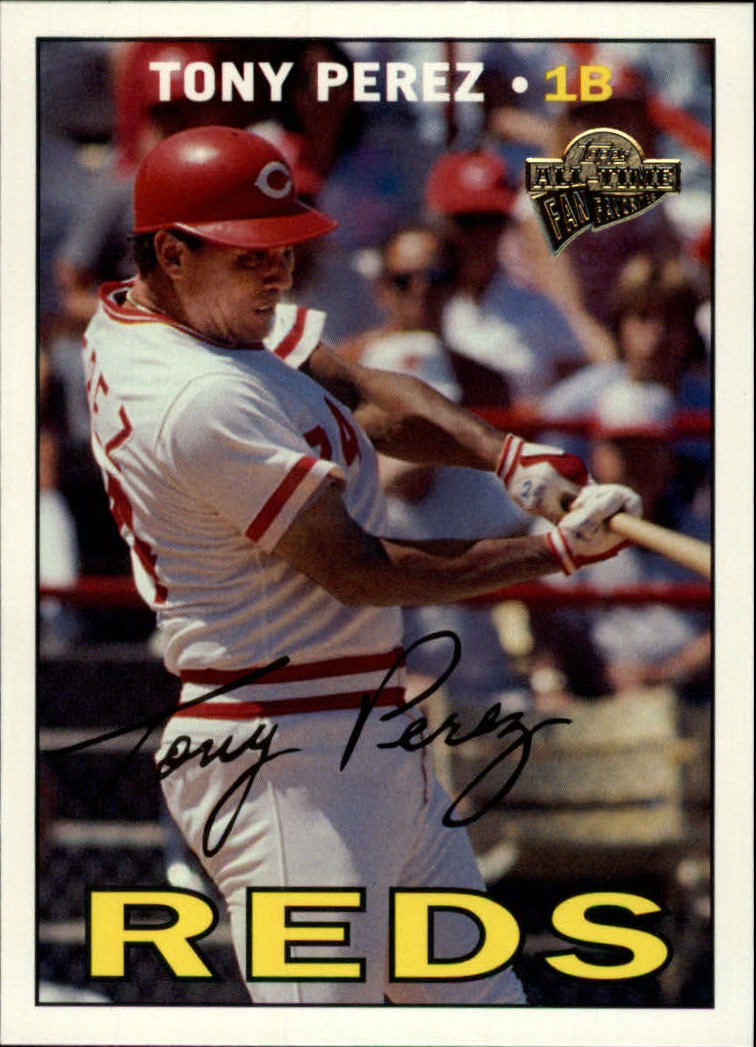 2003 Topps All-Time Fan Favorites #11 Tony Perez