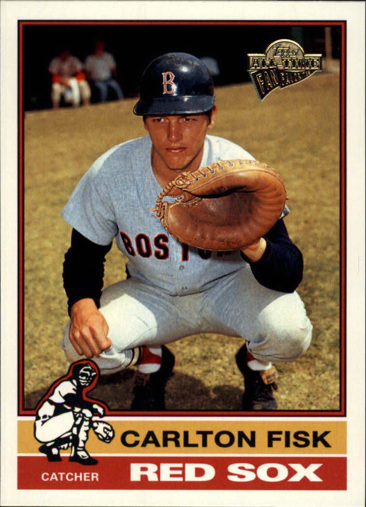 2003 Topps All-Time Fan Favorites #21 Carlton Fisk