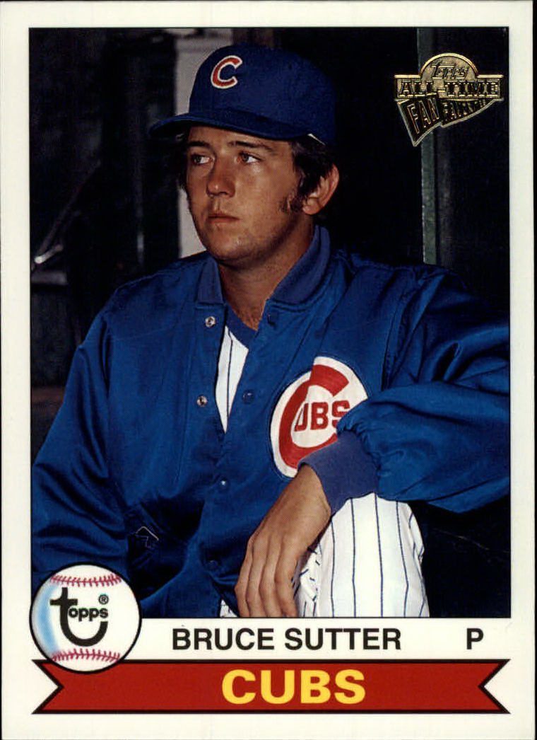 2003 Topps All-Time Fan Favorites #29 Bruce Sutter