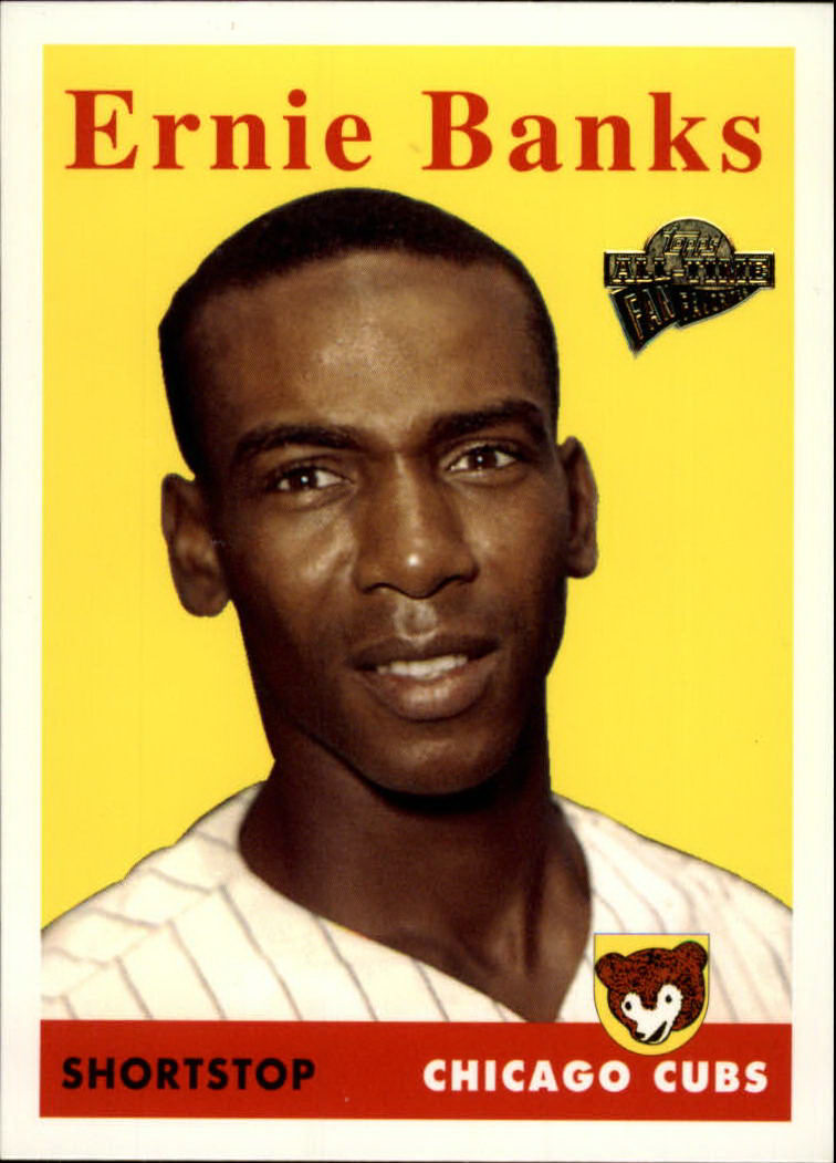 2003 Topps All-Time Fan Favorites #30 Ernie Banks