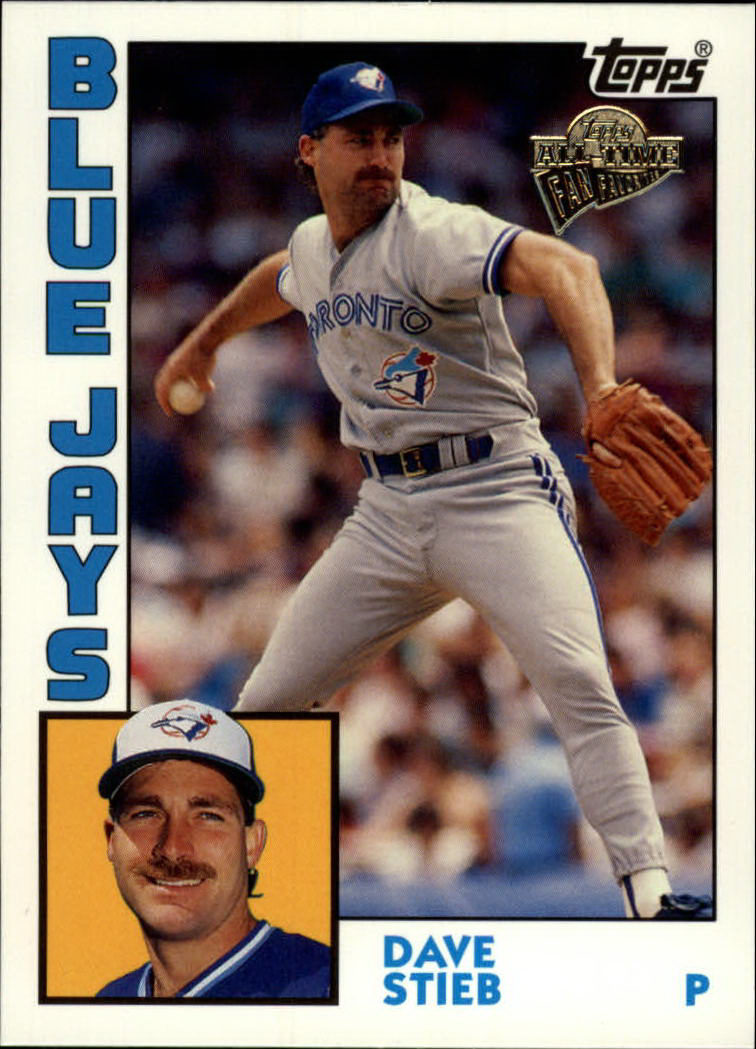 2003 Topps All-Time Fan Favorites #33 Dave Stieb