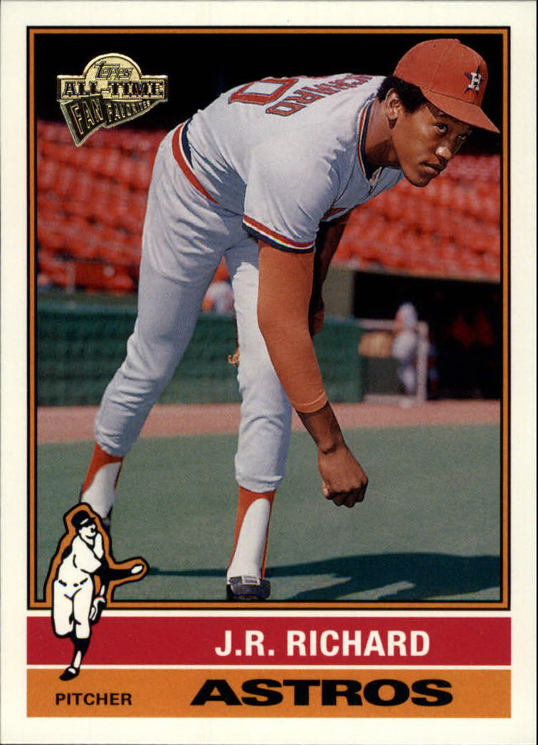 2003 Topps All-Time Fan Favorites #36 J.R. Richard