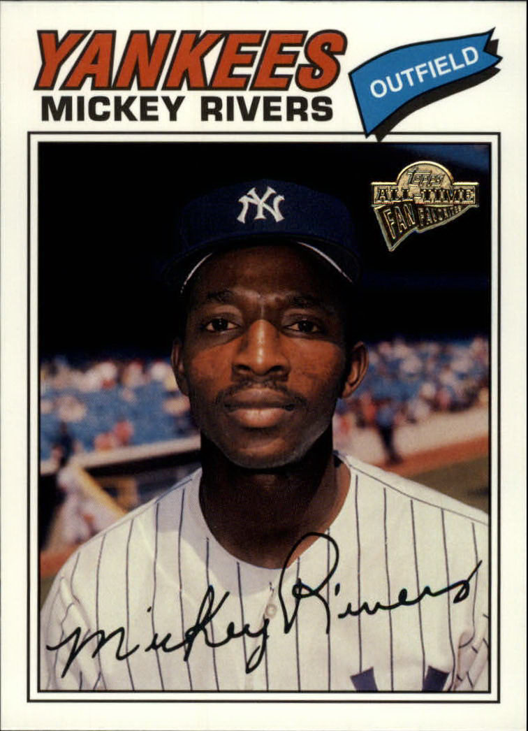 2003 Topps All-Time Fan Favorites #37 Mickey Rivers
